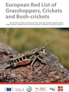 European Red List of Grasshoppers, Crickets and Bush-crickets