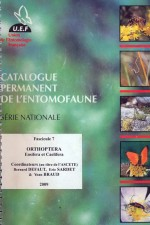 Catalogue permanent de l'entomofaune française, Orthoptera