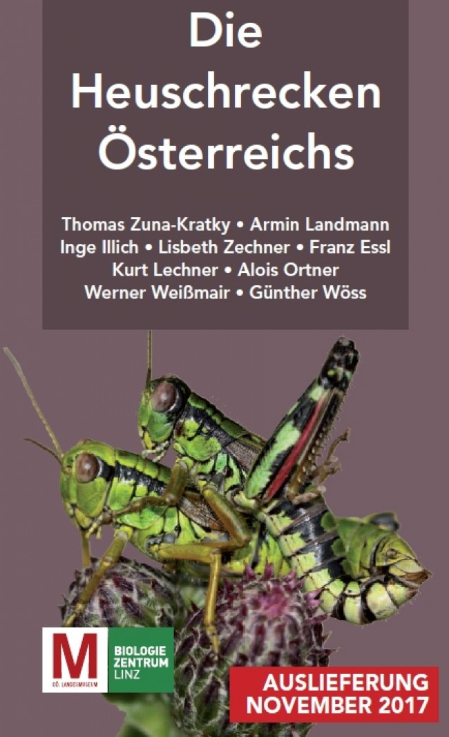 Book on Austrian Orthoptera