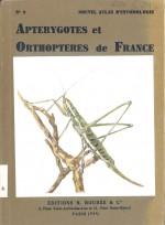 Atlas des Apterygotes et Orthopteroides de France