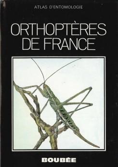 Atlas des aptérygotes et orthoptéroïdes de France