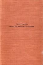 Fauna Palaestina: Insecta III - Orthoptera: Acridoidea
