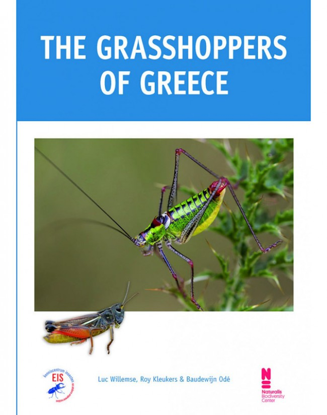 New book: The grasshoppers of Greece