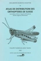 Atlas de distribution des orthoptères de Suisse