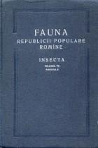 Fauna Republicii Populare Romine, Orthoptera