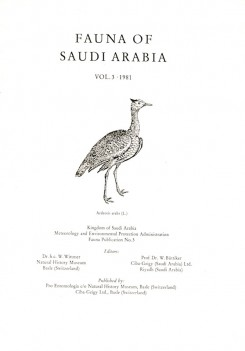 Fauna of Saudi Arabia vol. 3